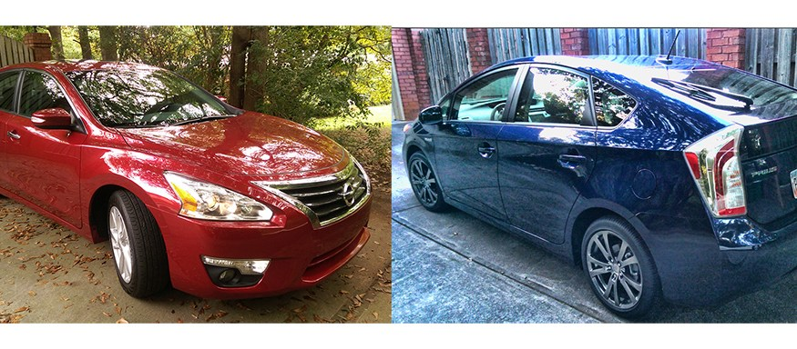 End of model year roundup: 2015 Toyota Prius and 2015 Nissan Altima