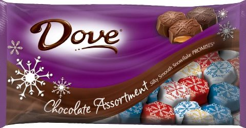 Dove recalls holiday chocolates due to allergy concerns