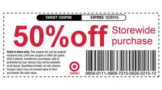 What Types of Coupons Does Target Accept?