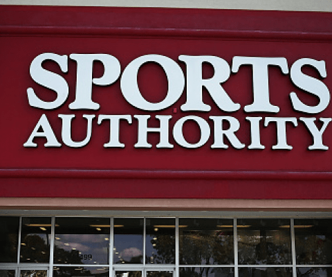 Here's a list of all 140 Sports Authority stores that are set to close