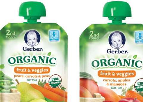 Gerber recalls baby food pouches