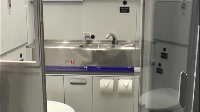Boeing creates self-cleaning airplane bathroom