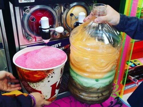 BYOCup Day at 7-Eleven: Fill whatever you want with Slurpee for just $1.50!