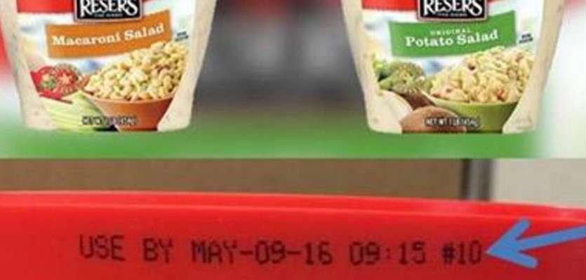 Reser's Fine Foods recalls refrigerated salads