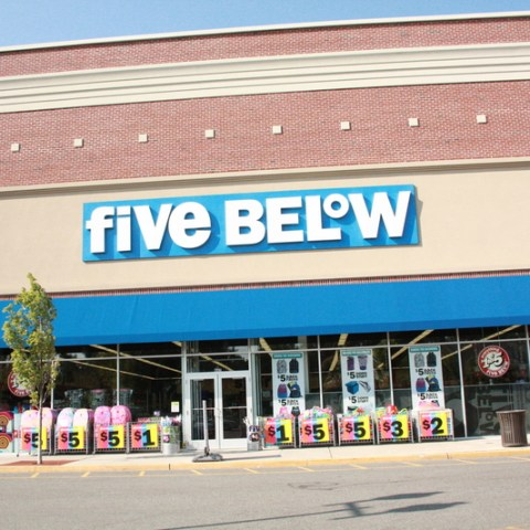 five below storefront
