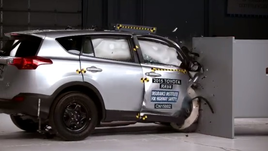 These SUVs did NOT perform well in a passenger-side crash test