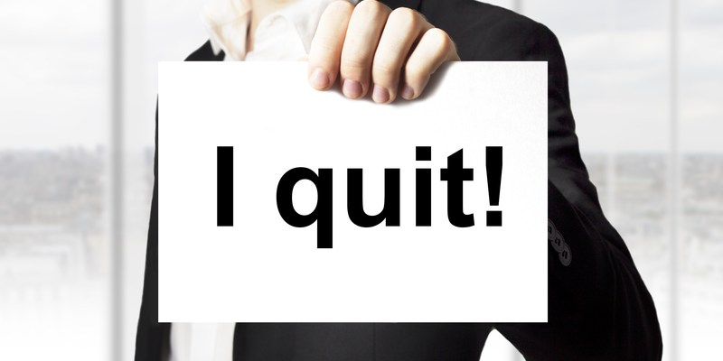 More employees are quitting without giving notice