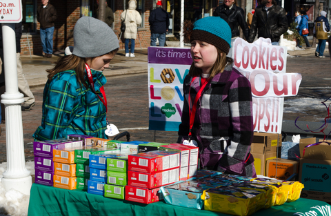 Don't mess with the Girl Scouts by welching on cookie debt!