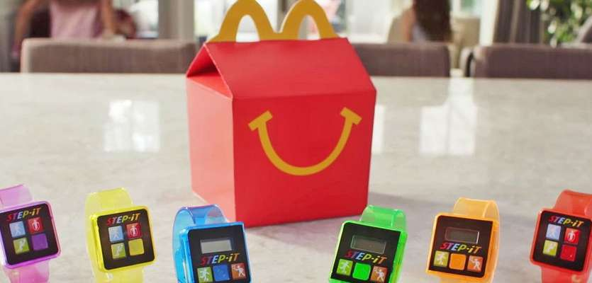 McDonald's Happy Meal fitness trackers may be on hold