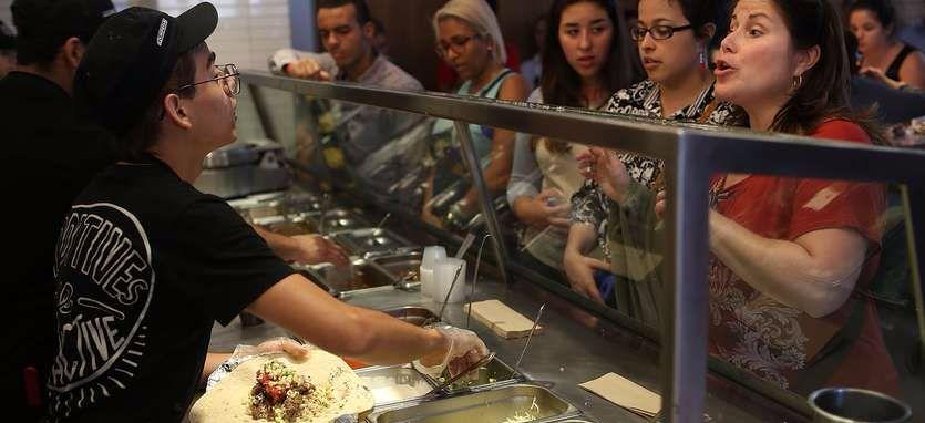 Chipotle will deliver burritos via drones