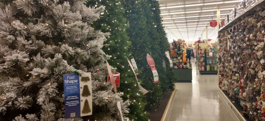 Too soon? It's already beginning to look a lot like Christmas