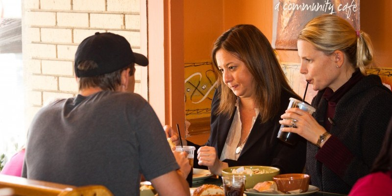 Community cafes offer a 'pay-what-you-want' business model