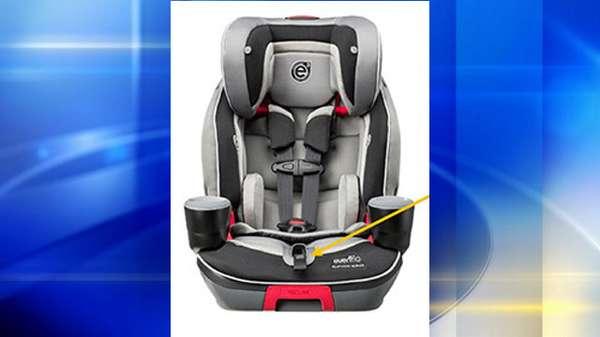 Evenflo recalls booster seats; children can loosen harness