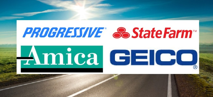 Car insurance rates: Geico vs. Progressive vs. Amica vs. State Farm  Clark Howard