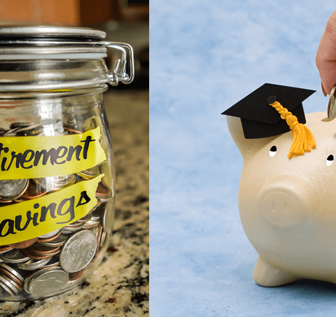 Should you save for retirement or pay down student loan debt?