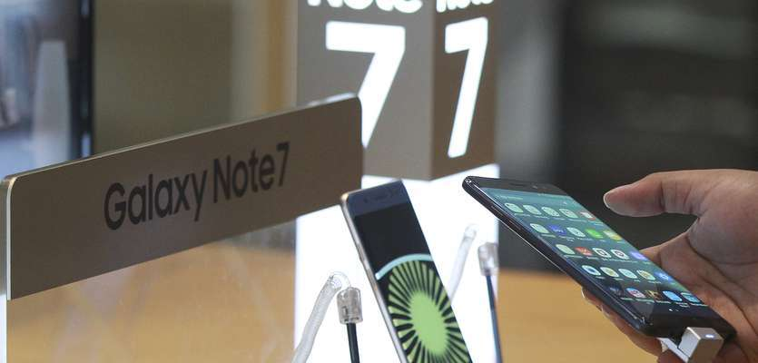 Samsung halts production of Galaxy Note 7 due to battery issues