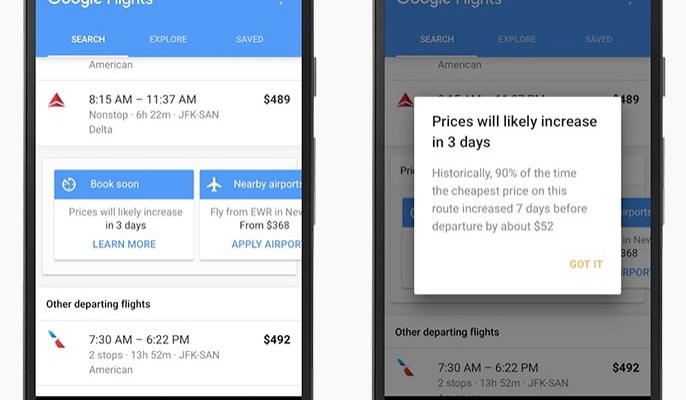 Google Flights new feature can save you big bucks on airfare
