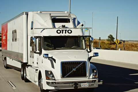 Self-driving truck makes 120-mile trek, delivers beer