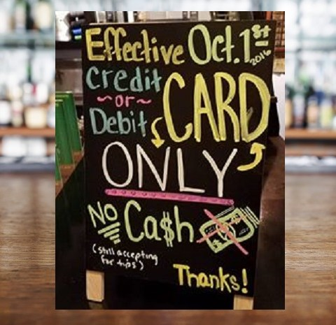 Here's what happened when a bar went completely cashless