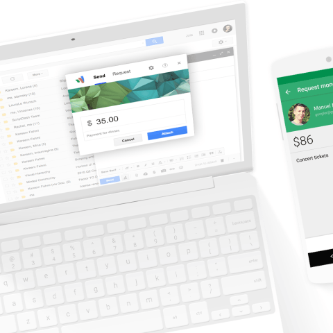 Google Wallet lets you send cash to friends from your phone