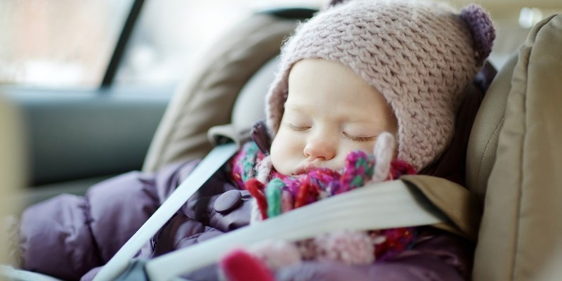Warning: Why children shouldn't wear winter coats in car seats