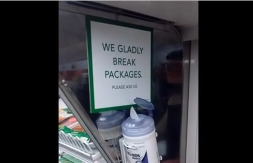 Breaking packages: Another way to save money at the grocery store