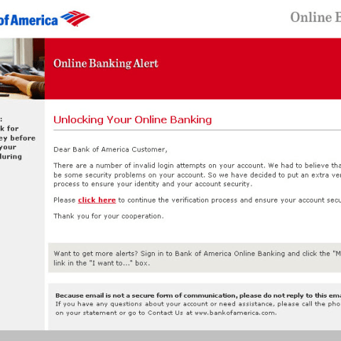 Scam alert: Fake email from your bank could rob you blind