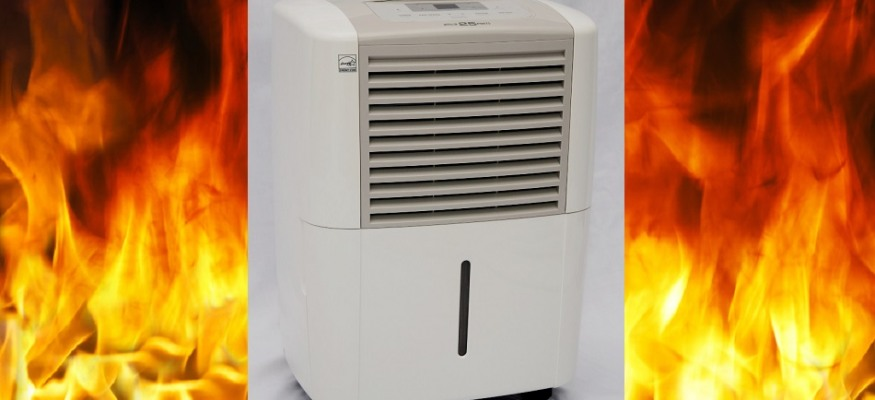 Dehumidifier warning: Don't forget these 2.5 million recalled units still pose a fire risk!