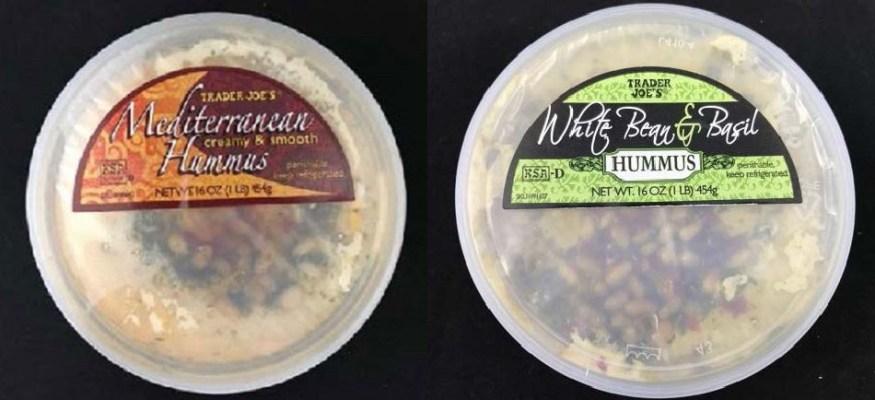Trader Joe's hummus recalled over listeria fears