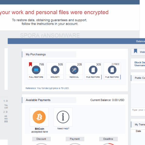 Spora: The new ransomware that hijacks your computer