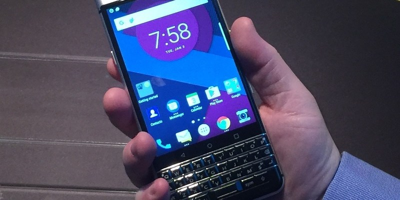 Blast from the past? BlackBerry Android phone with QWERTY keyboard coming to market