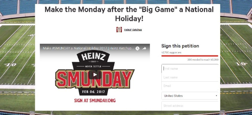 Petition calls for national holiday on Monday after the Super Bowl: Here's how to sign it!