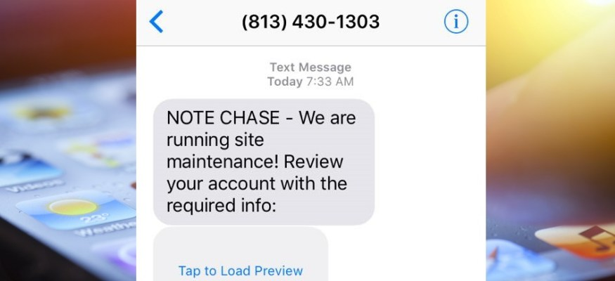 Warning: Scammers are using text messages to steal your bank info