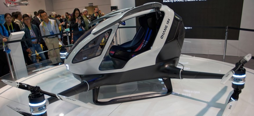 Self-flying drone taxis may take flight by this summer