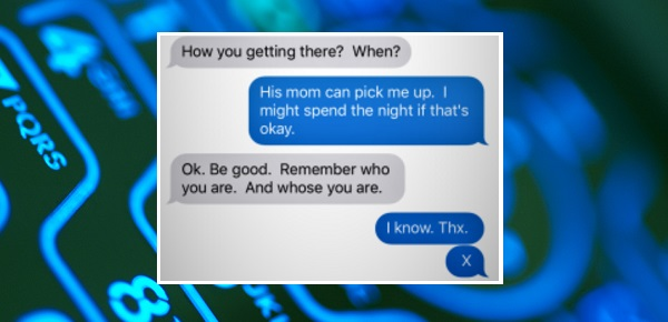 This dad uses a secret code to give his kids a way out of bad situations