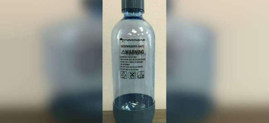 SodaStream recalls 51K bottles over explosion risk