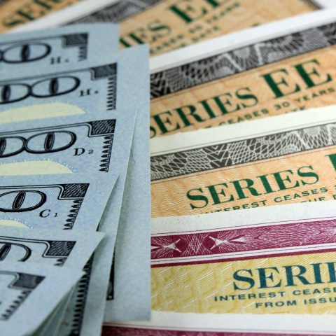 Series I savings bonds and cash