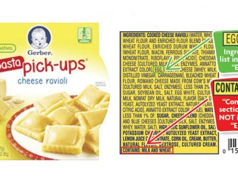 Gerber recalls toddler food due to mislabeling