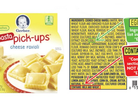 Gerber recalls toddler food due to mislabeling
