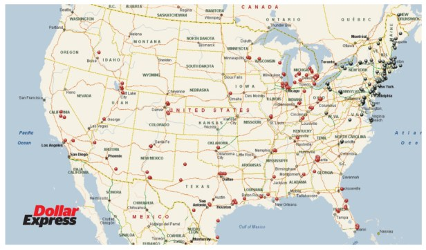 Dollar Express locations