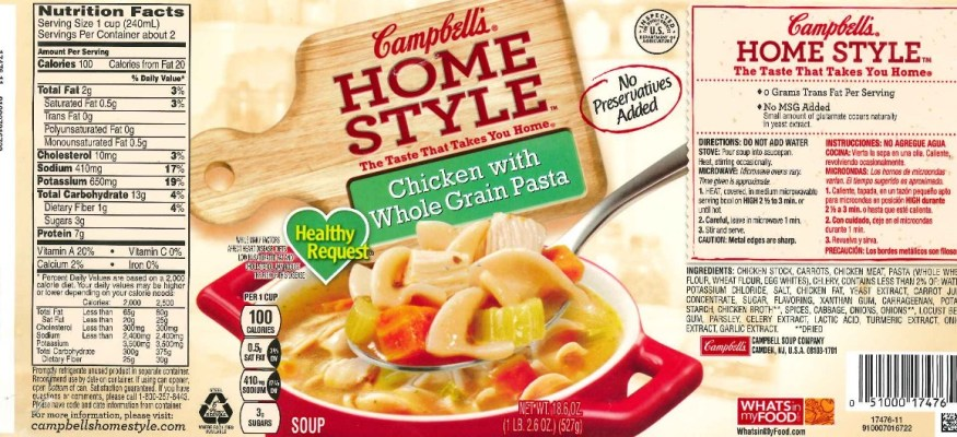 Campbell's chicken soup