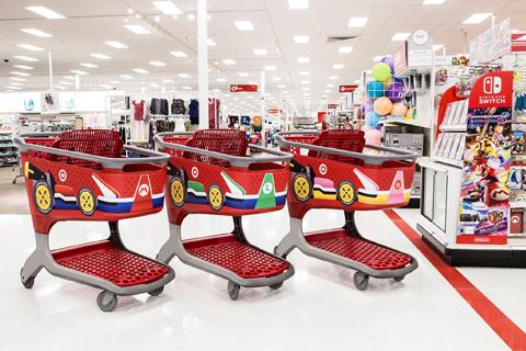 Target Mario karts