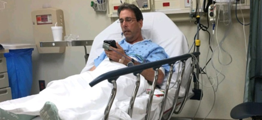 Clark Howard opens up about life-threatening health scare