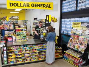 Dollar General checkout