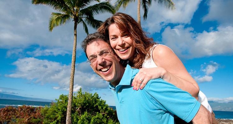 Clark Howard and wife Lane Carlock