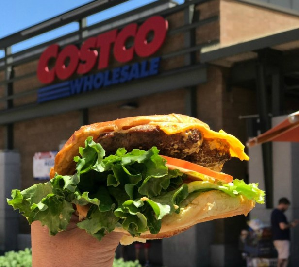 Costco's new cheeseburger