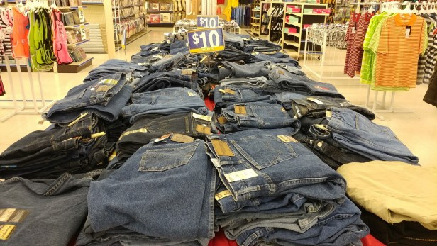 $10 Wrangler jeans at Roses