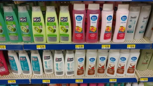 $1 shampoo at Roses