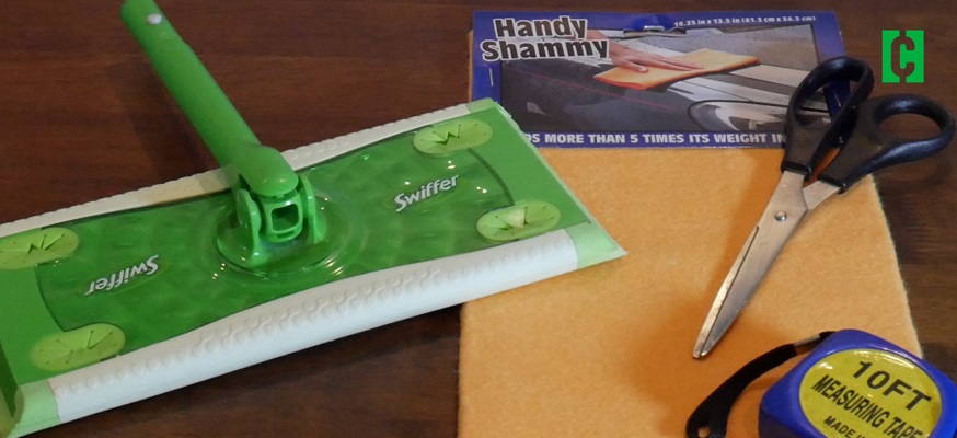 This dollar store hack will save money on Swiffer pads