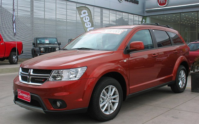 Dodge Journey SXT 2014 (Also called Fiat Freemont)